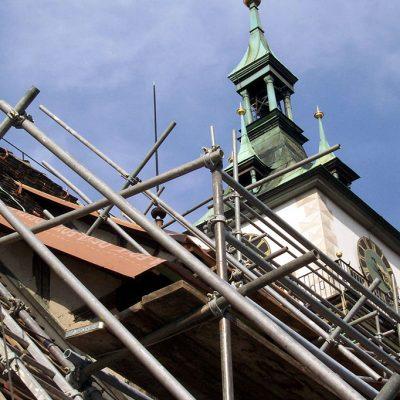 Restauration der Cannstatter Stadtkirche