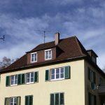 Klenk Holzbau Stuttgart: vor der Dachsanierung